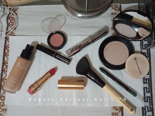 Make Up by Yves Rocher, Kalli's blog