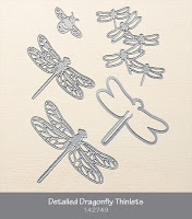 Detailed Dragonfly Thinlets