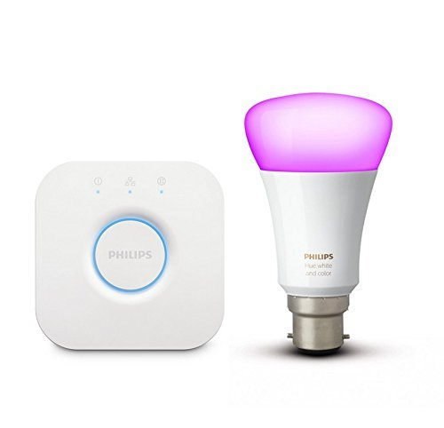 Philips Hue Smart Light Mini Starter with 10W B22 Bulb
