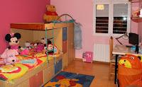 chalet en alquiler penyeta roja castellon dormitorio