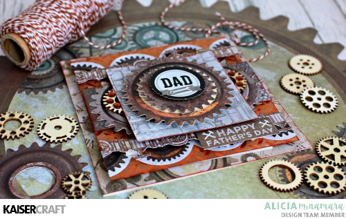 Kaisercraft Factory 42 Father's Day Cards by Alicia McNamara