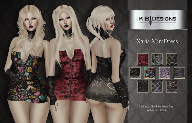 KiB Designs - Xaria MiniDress @Suicide Dollz