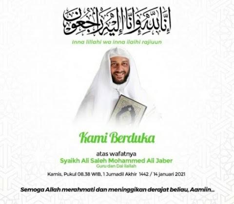 Syekh Ali Jaber Passed Away