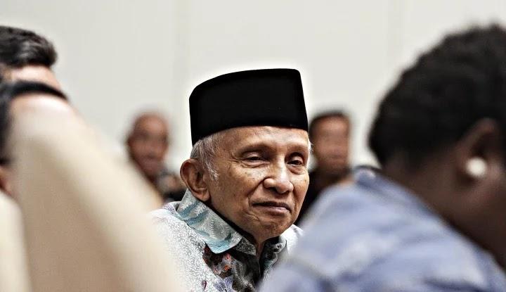 Mbah Amien Minta Jokowi Segera Bersihkan Istana, Mumpung Belum Terlalu Telat