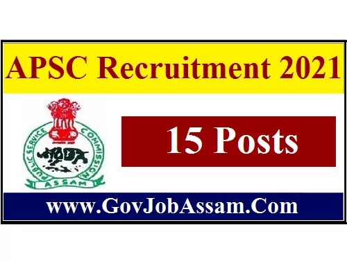 APSC Recruitment 2021 :: Apply Online for 15 Research Officer/ Planning Officer Vacancy