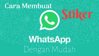 Cara Membuat Dan Memasang Stiker Whatsapp Dengan Mudah
