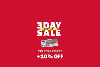 SM City Rosales 3-Day Sale Prestige Friday: September 13