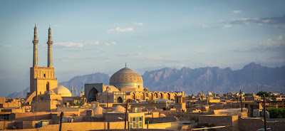 Jame Mosque of Yazd dating back to 12th century is regarded as one of the outstanding building.