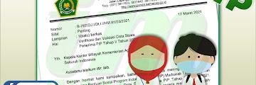 Surat Edaran Verval Data Siswa Penerima PIP Tahap II Tahun 2021 Madrasah