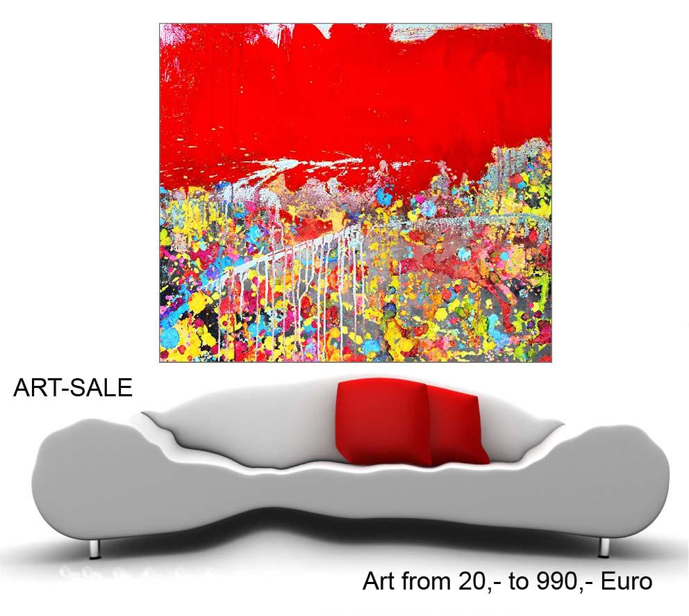 Xxl Art art-sale, moderne kunst, abstrakte Ölgemälde, große acrylbilder