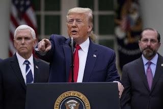 Dem PAC to Spend $5 Million to Attack Trump Over Coronavirus Response