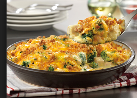 Chicken and broccoli bake Recipe