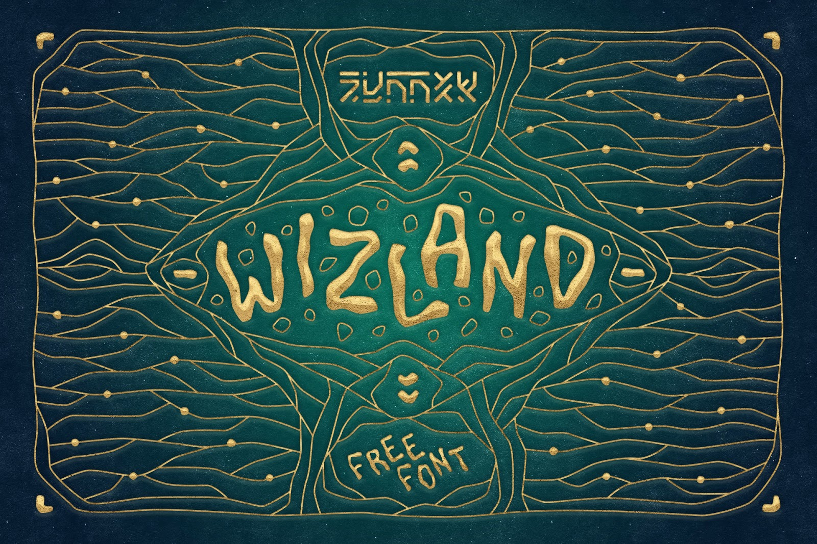 تحميل خط ويزلاند اللاتيني الرائع - WIZLAND Font