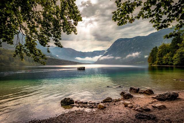 Lake Bohinj Slovenia Scenery