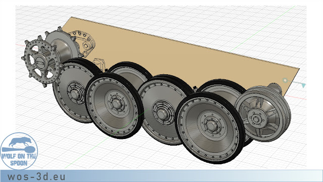 CAD Fahrwerk