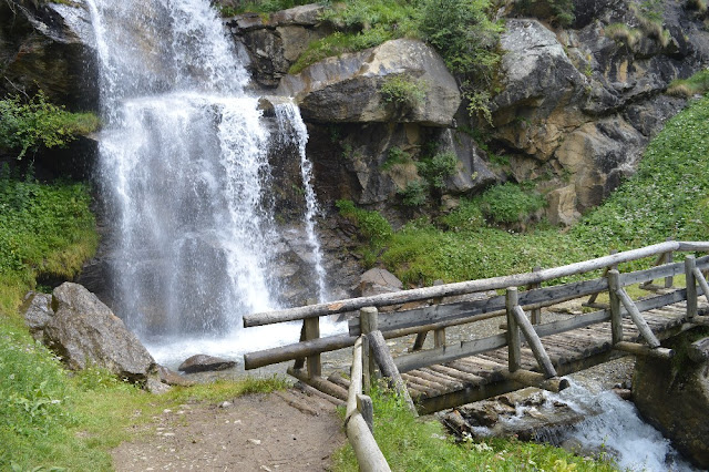 lago di covel cascata rio vioz