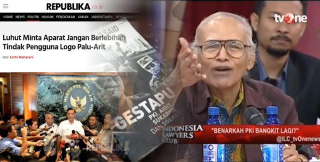 ILC HEBOH, Prof Salim Said Sebut Omnya Luhut Terlibat Gestapu