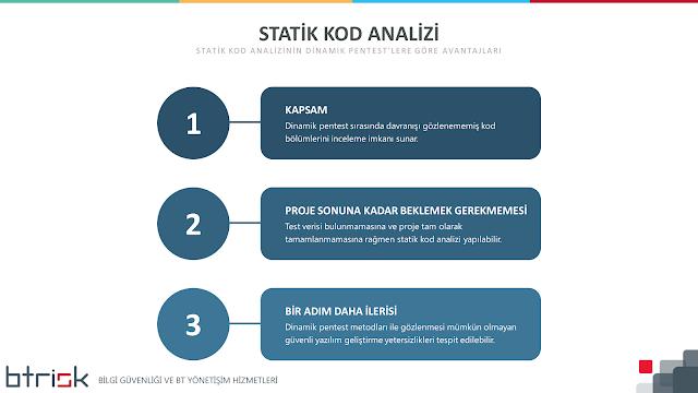 Statik Kod Analizinin Dinamik Penteste Göre Avantajları