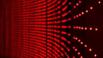 Free 3D Red Dots Wallpaper