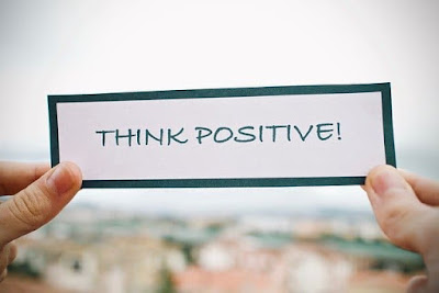 think positive, positive thinking brings happiness