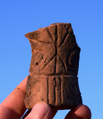 Unique Neolithic sculpture found at Czech site