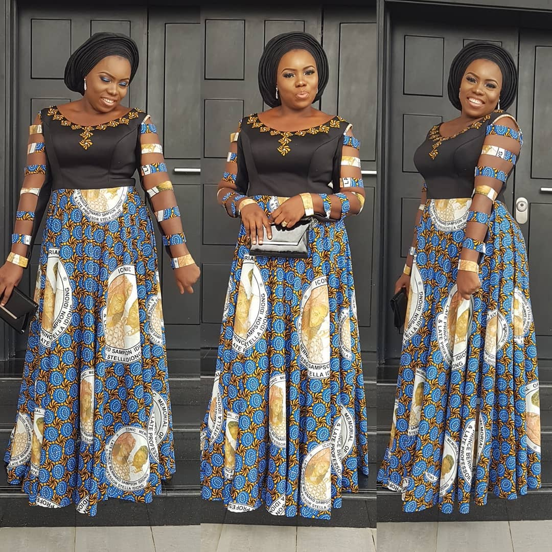 Stylish and Cutie Ankara Gown Styles You Should Rock for The Weekends