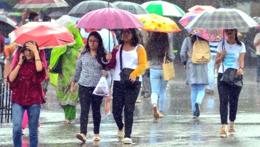 Monsoon Rain in Assam