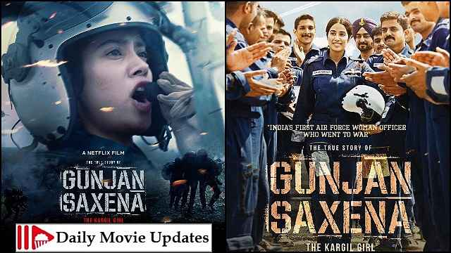 Gunjan Saxena Box Office Budget Cast And Crew Hit Or Flop Posters Story And Wiki