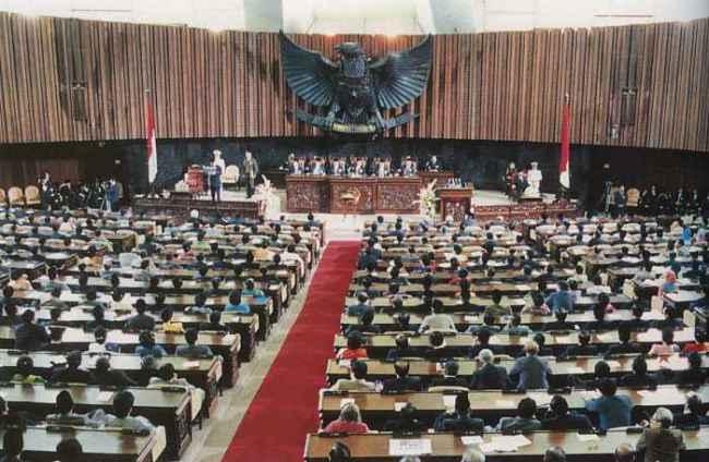 MPR, salah satu contoh Kekuasaan Konstitutif dalam Pembagian Kekuasaan secara Horizontal