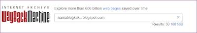 Cara Melihat Postingan Blog yang Sudah dihapus