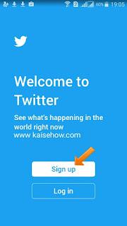 Twitter पर Account कैसे बनाएं