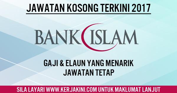 jawatan kosong bank islam