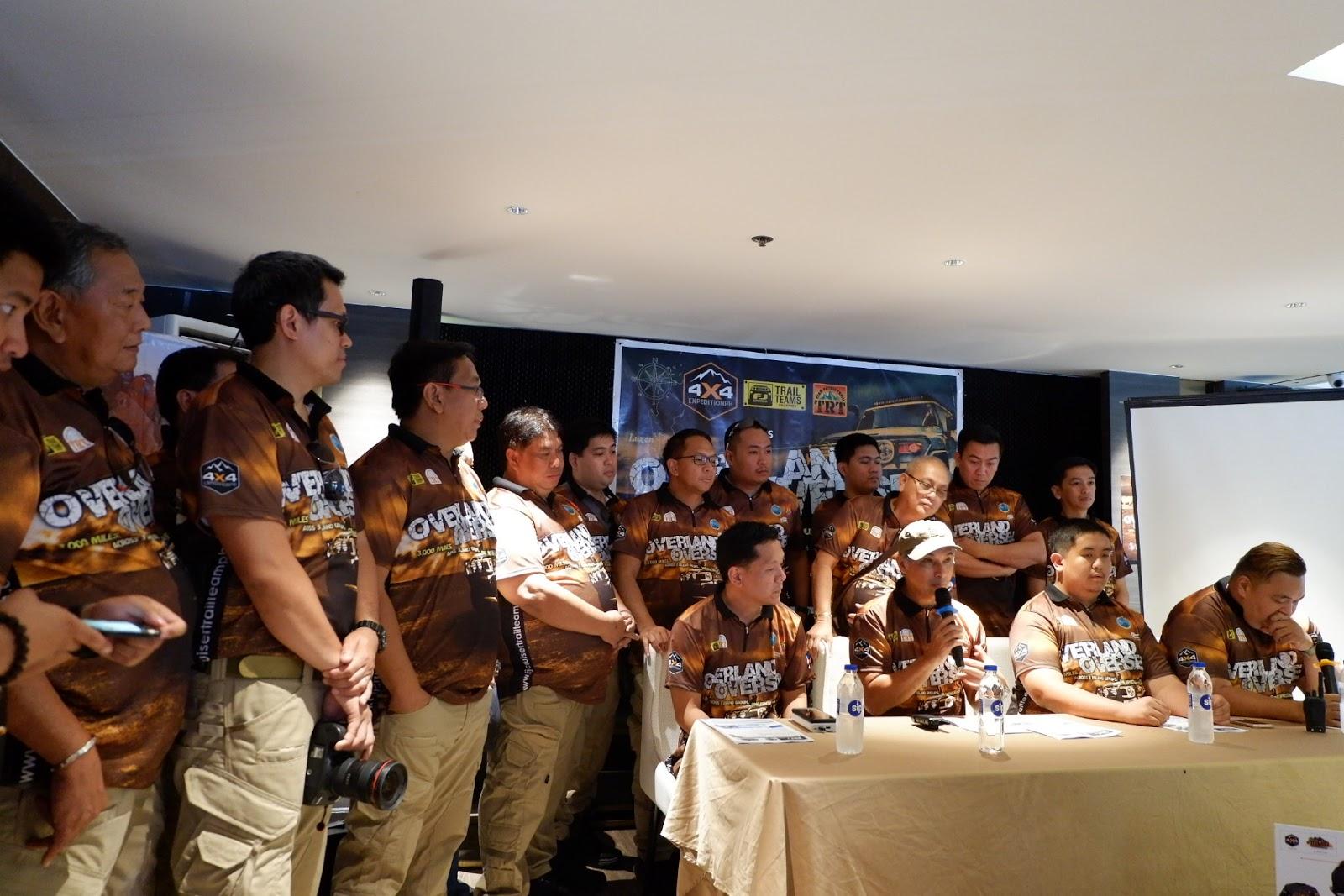 meet the team of FJ Cruiser Philippines