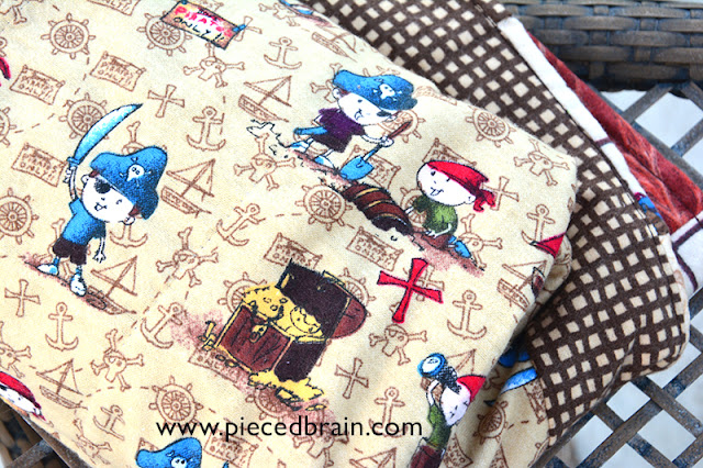 Pieced brain baby bliss for Baby themed fabric