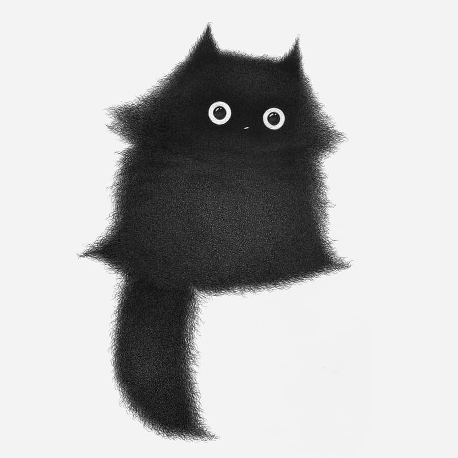 08-Cute-little-kitten-Luis-Coelho-www-designstack-co