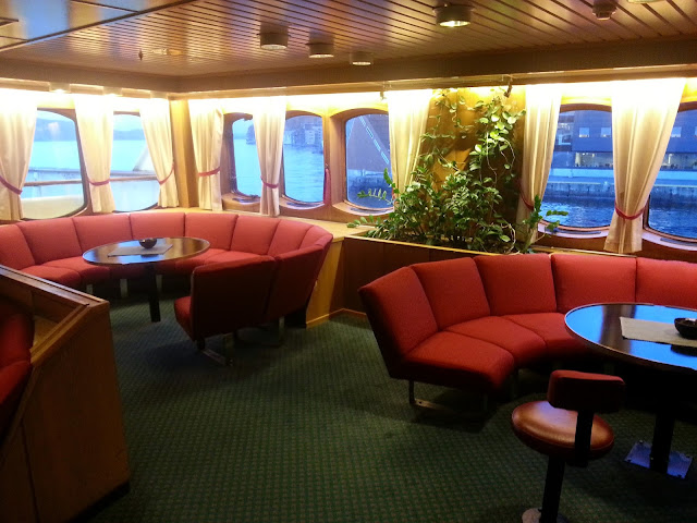 Hurtigruten MS Lofoten - Bar