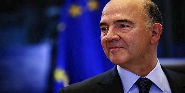Μοσκοβισί: «H Ελλάδα γυρίζει σελίδα από τη λιτότητα στο κεφάλαιο της ανάπτυξης και της απασχόλησης»