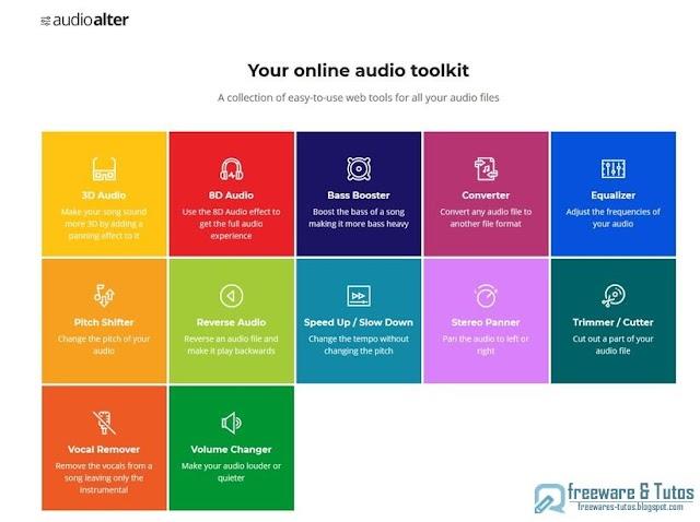 Audioalter : une boite à outils pour l'audio