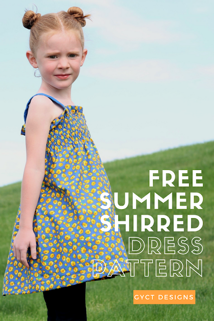 Step by step tutorial on making a shirred summer dress for inexpensive