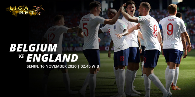PREDIKSI PARLAY BELGIUM VS ENGLAND SENIN 16 NOVEMBER 2020