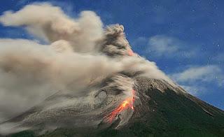 Letusan Gunung Kelud, Kediri, Jawa Timur