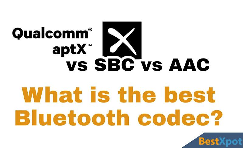 aptX vs SBC vs AAC Codec what is the best Bluetooth codec