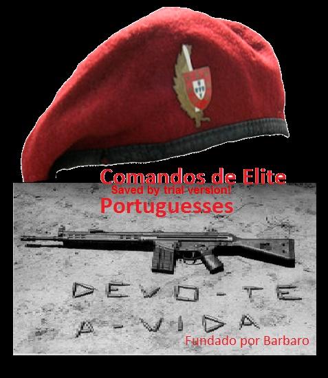 FORÇAS ESPECIAIS VI – Comandos - curiosidad. « 5aef62f43ab