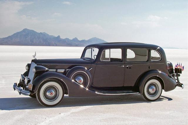 1937 Packard Super Eight 1500 Touring Sedan