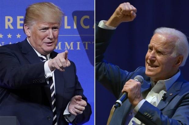 Trump dice que ganaría a Joe Biden