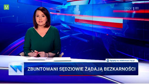 TVP: ZBUNTOWANI SĘDZIOWIE