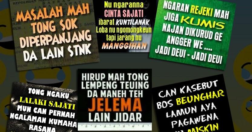 Kumpulan Kata Kata Lucu Bahasa Sunda Dan Artinya