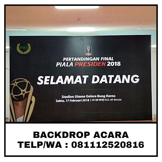 Sewa Backdrop / Background / Photobooth Acara Seminar 081112520816