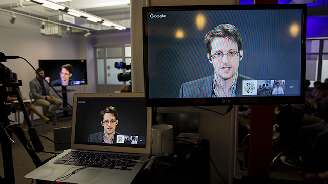 ¿Está en peligro? Snowden despierta las alarmas en EE.UU. tras publicar un posible código encriptado