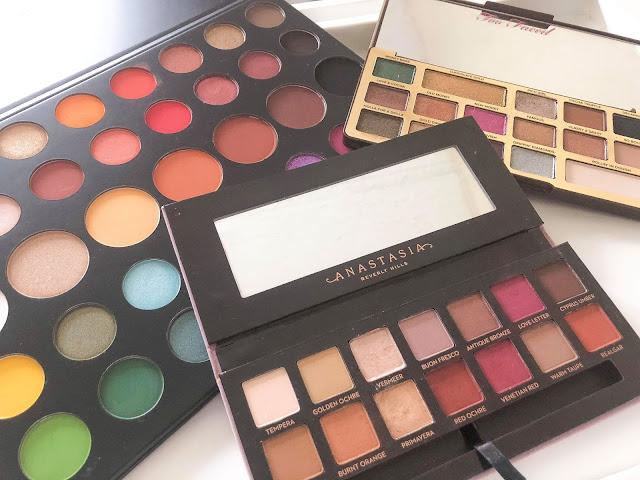 spring eyeshadow palettes